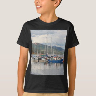 Boats at Kyleakin, Isle of Skye, Scotland T-Shirt