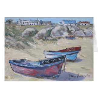 Boats at Paternoster Card