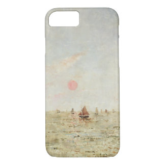 Boats at Sunrise (oil on panel) iPhone 7 Case