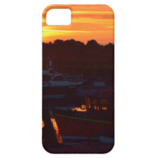 Boats At Sunset iPhone 5 Covers
