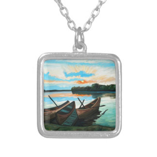 Boats at Sunset Necklaces