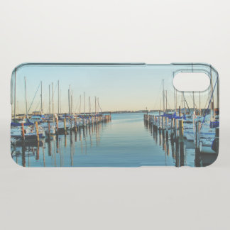Boats at the Marina by Shirley Taylor iPhone X Case