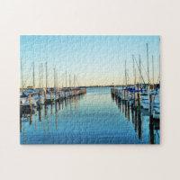Boats At The Marina by Shirley Taylor