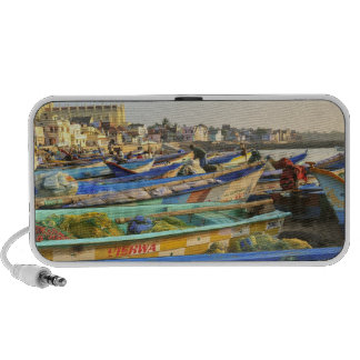 Boats being readied for fishing, The Church of Travel Speaker