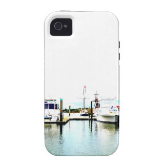 Boats docked iPhone 4/4S case