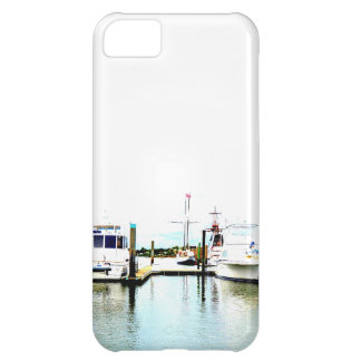 Boats docked iPhone 5C case