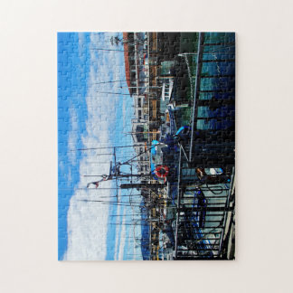 Boats in dock jigsaw puzzle