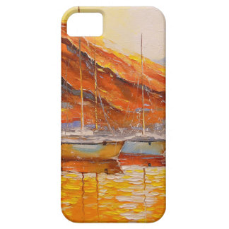 Boats in Harbor Barely There iPhone 5 Case