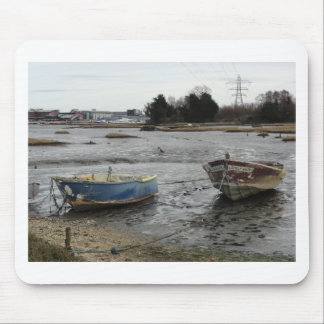 Boats in Holes Bay Dorset Mouse Pad