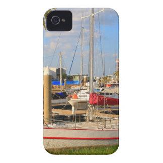 Boats in marina, Darwin, Australia iPhone 4 Case