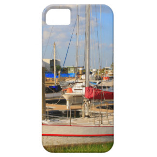 Boats in marina, Darwin, Australia iPhone 5 Cover
