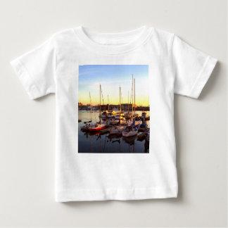 Boats in Marina in Oakland, CA Baby T-Shirt