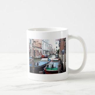 Boats in Venice Coffee Mug