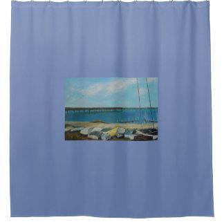BOATS OF SALT RUN 2 Shower Curtain