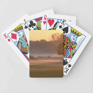 Boats on a Lake Bicycle Playing Cards