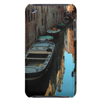Boats on Canal Water Venice Italy Buildings iPod Case-Mate Cases
