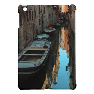 Boats on Canal Water Venice Italy Buildings Case For The iPad Mini