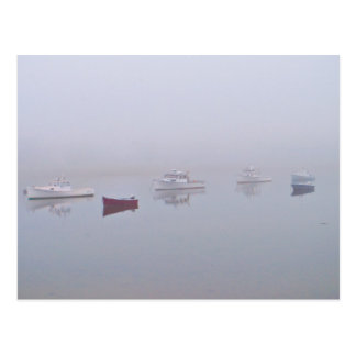 Boats on Cape Porpoise Harbor in Kennebunkport, ME Postcard