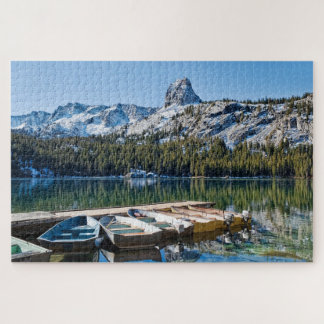 Boats on Dock Jigsaw Puzzle