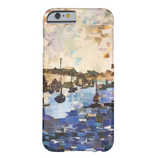 Boats On Lake Erie Paper Collage Phone Case