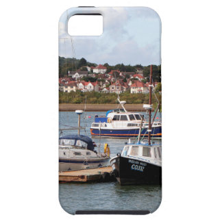 Boats on River Conwy, Wales Case For The iPhone 5
