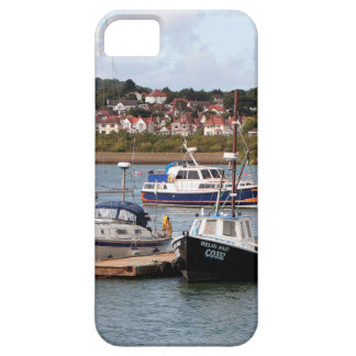 Boats on River Conwy, Wales iPhone 5 Cases