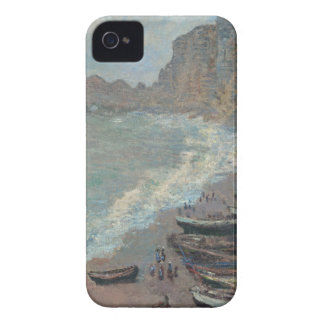 Boats on the Beach, Claude Monet iPhone 4 Case-Mate Cases