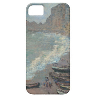Boats on the Beach, Claude Monet iPhone 5 Covers