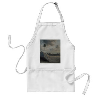 Boats on the Beach Standard Apron