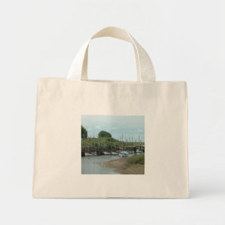 BOATS ON THE CREEK, Summer Sunshine Days Mini Tote Bag