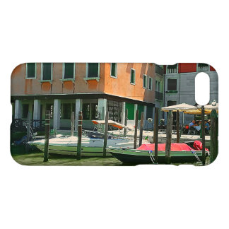 Boats on the Grand Canal iPhone Case