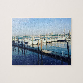 Boats on the Hudson River NYC New York City Puzzle