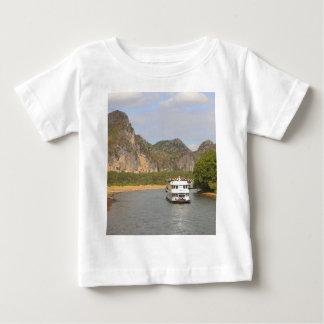 Boats on the Li River, China Baby T-Shirt