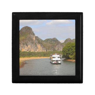 Boats on the Li River, China Gift Box