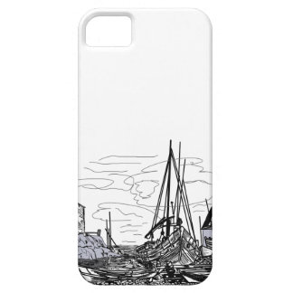 boats on the water iPhone 5 covers