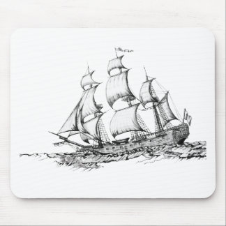 boats on the water mouse pad