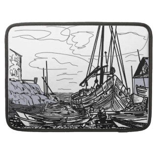 boats on the water sleeve for MacBooks