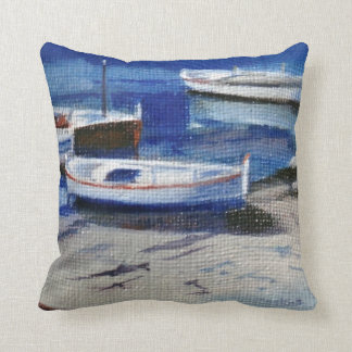 Boats/Small boats Throw Pillow