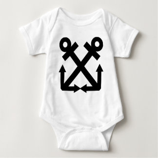 Boatswains Mate Rating Baby Bodysuit