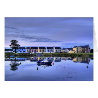 Boatyard Reflections Card