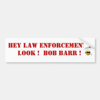 Bob Barr Bumper Sticker
