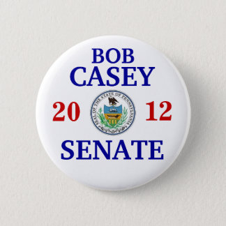 Bob Casey Jr FOR SENATE 6 Cm Round Badge