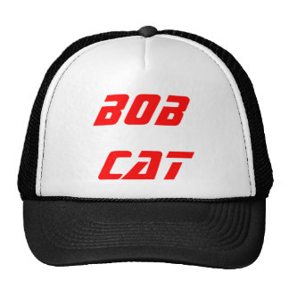 bob cat hot cap