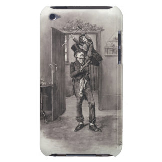 Bob Cratchit and Tiny Tim, from 'Charles Dickens: Barely There iPod Case