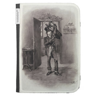 Bob Cratchit and Tiny Tim, from 'Charles Dickens: Kindle Keyboard Cases