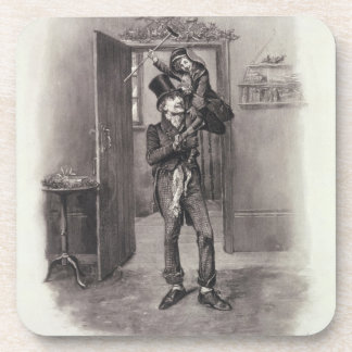 Bob Cratchit and Tiny Tim, from 'Charles Dickens: Coasters