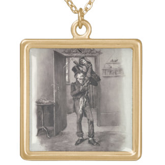 Bob Cratchit and Tiny Tim, from 'Charles Dickens: Necklaces