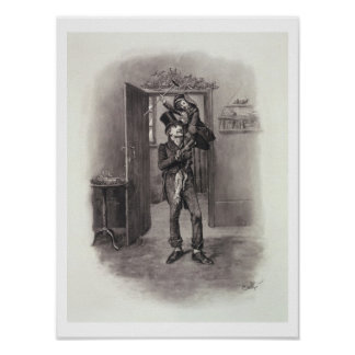 Bob Cratchit and Tiny Tim, from 'Charles Dickens: Poster