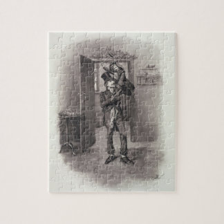 Bob Cratchit and Tiny Tim, from 'Charles Dickens: Puzzles