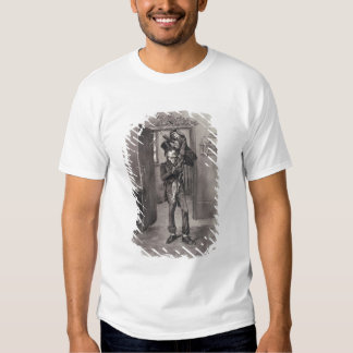 Bob Cratchit and Tiny Tim, from 'Charles Dickens: T Shirt